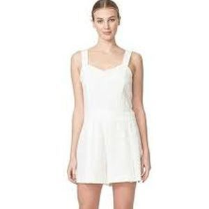 1. State Creamy Eyelet Lace Shorts Romper